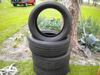 4 Michelin Car Tires size P235/50R18 Like New - no