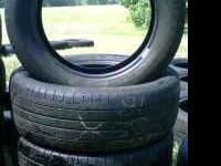 (4) 235-55-18 tires - good tread. 4 - Michelin Tires
