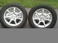 4 Michelin X-Ice Snow Tires with Sport Edition Alloy