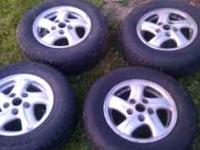 I have a set of 14 inch wheels and 195/70/14 tires with