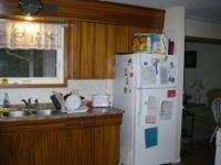 4 room house, Willowdale Ave. Waterloo. There is a BBQ,