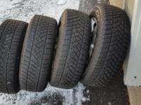 I am selling a set of mounted/balanced/tpms DUNLOP Snow