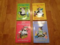 4 like new Mrs. Piggle Wiggle paperback books.