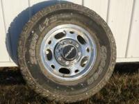 4 New Cooper 265-75R16 Tires. 10 Ply on Chevy 8 bolt