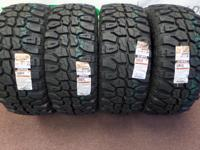 LT35X12.50 R17LT D 8PLY MUDCLAW M/T OWL. FREE MOUNT AND