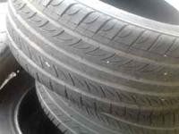 I have 4 nexen tires. 225 55 16. 2 have bout 70% Nd the