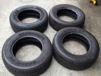 "FOR SALE IS ONE SET OF 4 215 65 15"" GOODYEAR GOOD YEAR"