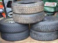 Selling 4 or 6 winter tires for Honda Civic: 4 like new