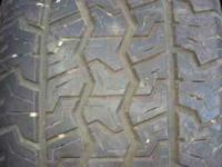4-ALL SEASON P-225/60/16IN RADIAL TIRES IN GOOD