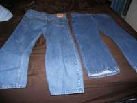 I HAVE 4-PAIRS OF LEVI 505 PANTS 40 WAIST AND 30 LONG