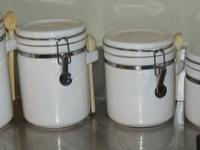 We have a 4 pc. canister set for sale - not sure of the