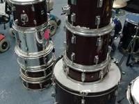 4pc drum set on sale for only $85  Also available are