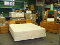 I have a 4 pc Bedroom set that includes a solid Oak