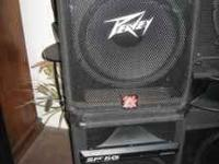 I have 4 Peavey SP 5G speakers for sale. Excellent