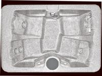 Series 200 hot tub- Seats 4 with bucket style