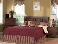 Brand new 4 piece SHAKER Bedroom by Lang Furniture in