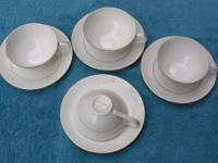 4 Place Cup & Saucer Set by Embassy $25 Selling a 4