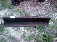 4, plow for lawn tractor mounts will need to