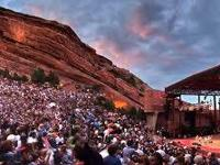 Sarah McLachlan show at Red Rocks.  Sarah AND Red Rocks