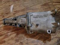 Up for sale is a Muncie 4 speed transmission case and