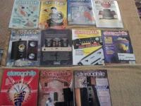 For sale are back issues of Stereophile Magazine from