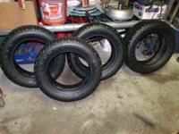 this is for 4 studded winterforce tires 195/60/15 in