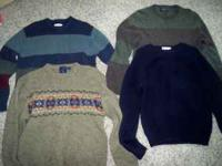 4 Sweaters for sale....all in good shape barely ever