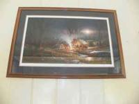 4 Signed and Numbered Terry Redlin Prints, 1 Large and