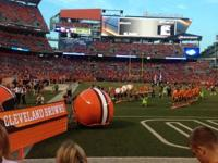 I'm offering 4 Preseason Tickets to the Browns vs.