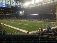 4 Tickets Lions VS Bengals at Ford Field!  Section 133