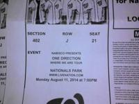 I have 4 tickets for the August 11th program in