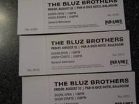 The Bluz Brothers Friday August 22 Par-A-Dice Hotel