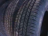 SET OF FOUR ALMOST NEW (EXCELLENT CONDITION) 215/70R15