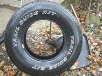 4 trail guide lt 265 75 r16 tires for sale $125 good