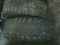 IF YOU SEE AD I STILL HAVE THEM 2 GOODYEAR WRANGLER MTs