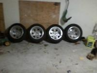 have 4 tires and rims size is p205-60-r16 the rim have