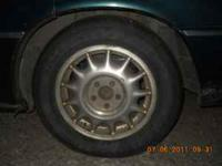 For Sale four Definity EX600 tires and rims from 1998