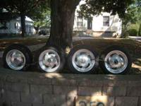 I have a set of four tires and wheels. Two of the