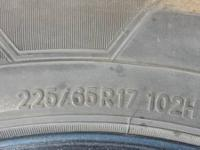 I have 4 tires for sale 225 65 17 in good shape for