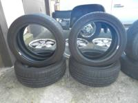 4 Goodyear tires 235/45-18  /  235 45 18  /  235-45-18