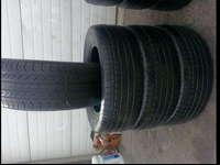 I am selling a set of CONTINENTAL PROCONTACT tires,