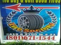 Iam offering a set of FIRESTONE tires, they are