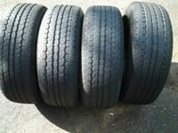 4 General Ametitrac  P255/55R17 ---  110 weight rating