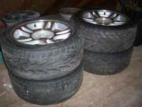 I have for sale 4 Fuzion 255/40R17 tires. 2 tires have