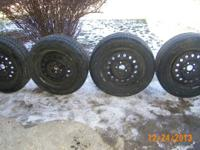 4 TIRES IN GOOD CONDITION 205-60R15 GEOSTAR RADIAL NST