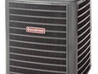 A GOODMAN 4-Ton 16-SEER Central Air Conditioner; Has A