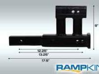 "RAMP KING introduces the AR-24, a 4"" hitch riser"