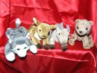 Cute TY Beanie Baby Forest Creatures for the kids this