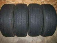 I have 4 used, size 195/55 R 15 85v tiger paw touring