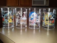 Highly collectible Disney glasses. These are incredible